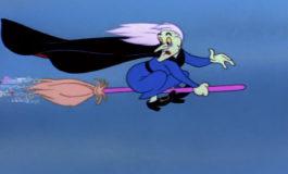 Летающая колдунья